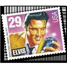 郵票     主题猫王主题邮票 Elvis Presley  '