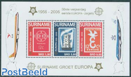 50 Years Europa stamps s/s