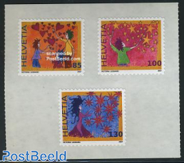 Greeting stamps 3v s-a