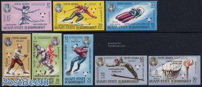 Olympic Winter Games 8v imperforated