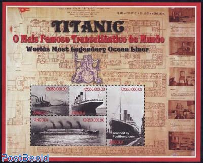 Titanic 4v m/s