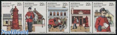 Stamp week 5v [::::]