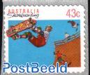 Self adhesive stamp 1v