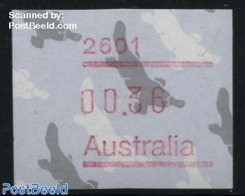 Automat stamp 1v, (face value may vary)