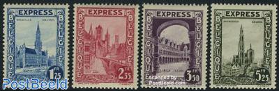 Express mail stamps 4v