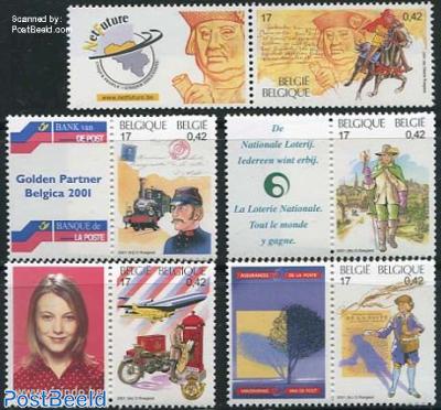 Postal service 5v+tabs