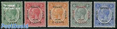 Belize relief fund 5v