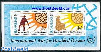 Int. year of disabled people s/s