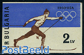 Olympic Winter Games Squaw Valley 1v imperforated