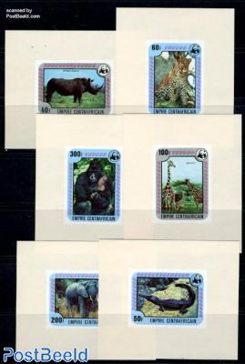 WWF, Animals 6 s/s