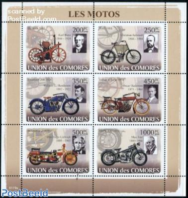 Motor cycles 6v m/s
