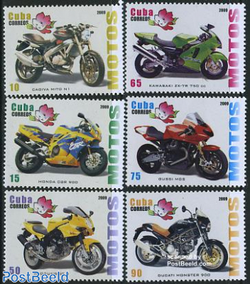 Expo China, motorcycles 6v