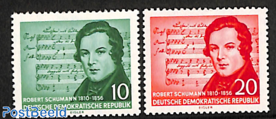 R. Schumann 2v with wrong music