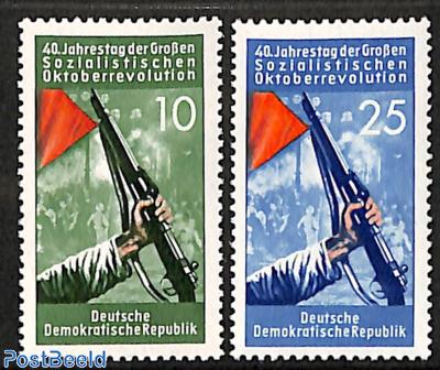 Russian October Revolution 2v