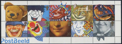 Wishing stamps 10v m/s (issued in booklet pack)