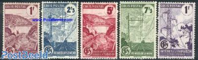 Parcel stamps, electricity 5v