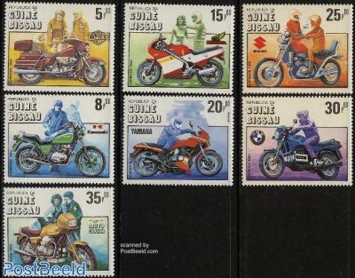 Motor cycle centenary 7v