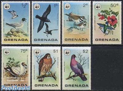 WWF, birds 7v