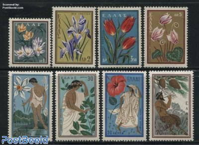 Flowers, nature conservation congress 8v