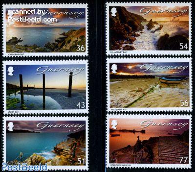 Sea, Guernsey 6v (1v SEPAC)