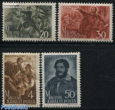 L. Kossuth 4v