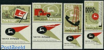 Postal administration 4v
