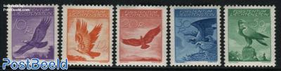 Airmail definitives, Eagle 5v
