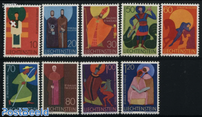 Definitives, religion 9v