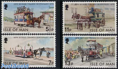 Horse drawn tramway 4v