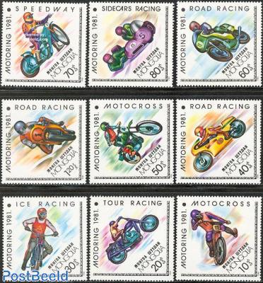 Motor cycle sports 9v