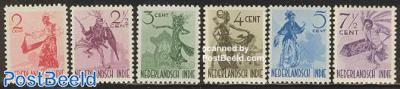 Inland dancers 6v