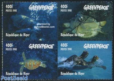 Greenpeace, turtles 4v [+]