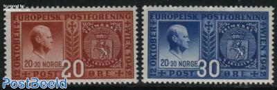 European postal association 2v