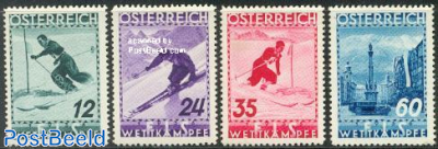 Skiing championship 4v