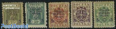 Warsaw stamp exposition 5v