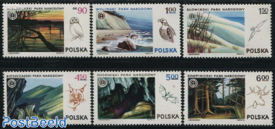 National parks 6v