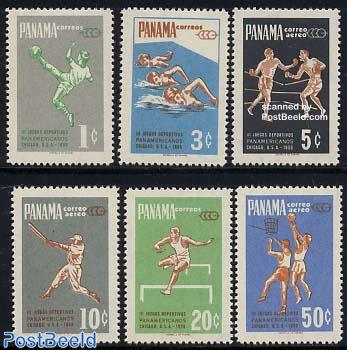 Panamerican games 6v