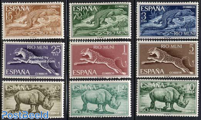 Definitives, animals 9v
