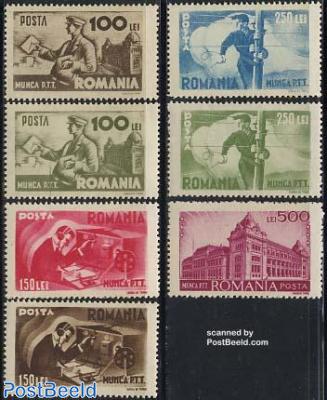 Post & telegraph 7v
