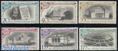 500 years Bucarest 6v