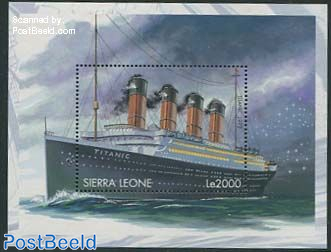 History of sailing s/s, Titanic