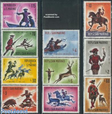 History of hunting 10v