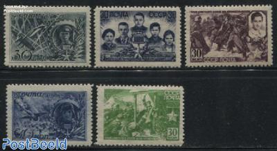 Soviet heroes 5v