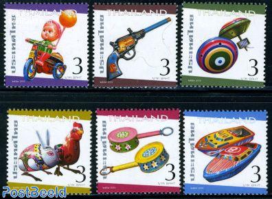 Tin toys 6v