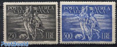 Airmail definitives 2v