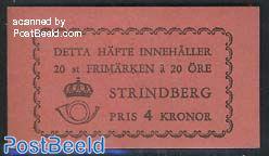 August Strindberg booklet