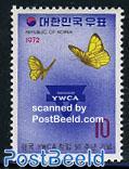 YWCA, butterflies 1v