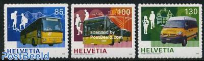 100 Years Postauto 3v s-a